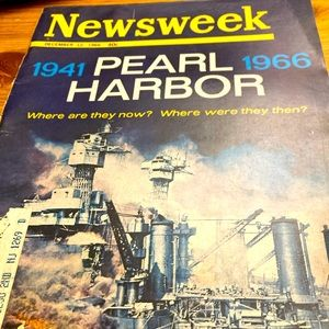 1966 Newsweek ~ Pearl Harbor
